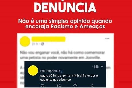 Ana Lúcia compartilhou o ataque racista que sofreu nas redes