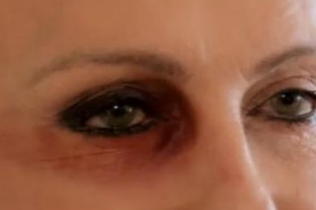 Apresentadora fez alerta sobre violência doméstica