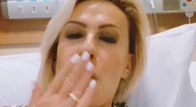 Ana vem compartilhando momentos do tratamento