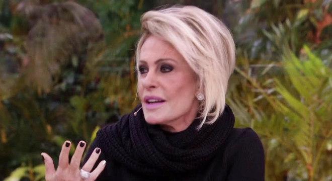 Ana Maria Braga fuma há mais de 40 anos