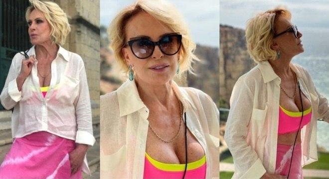 Ana Maria Braga fez uma bela produção de moda e com a cara do verão 2020!