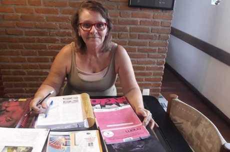 Ana Maria Freitas, de 63 anos, quer cursar medicina