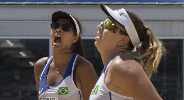 Ana Patricia e Rebecca perderam para dupla da Suíça