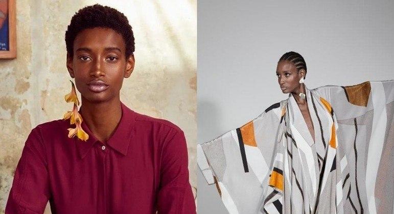 Ana Patrocínio, de 25 anos, é destaque na moda nacional