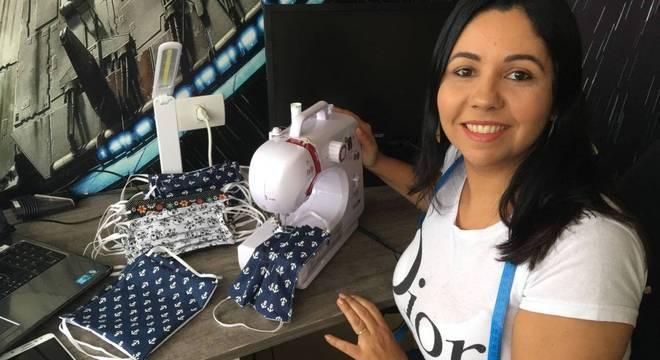 Ana Paula diz estar feliz por poder ajudar as pessoas a se protegerem