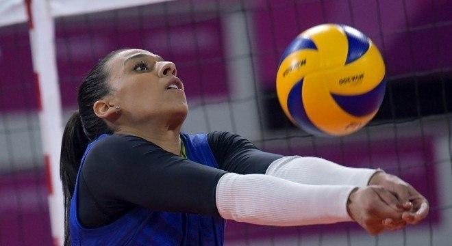 Paula Borgo também sonha em disputar os Jogos Olímpicos pela seleção brasileira