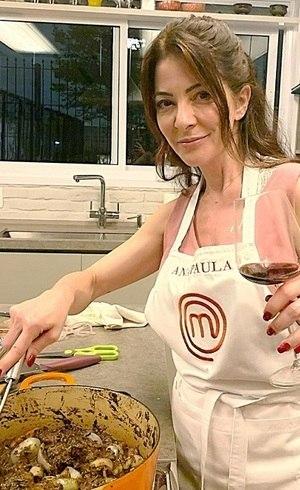 """Ana Paula Padrão, apresentadora do """"MasterChef"""""""