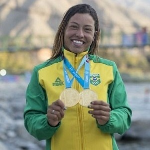 Ana Sátila classificada para disputar a Canoagem Slalom