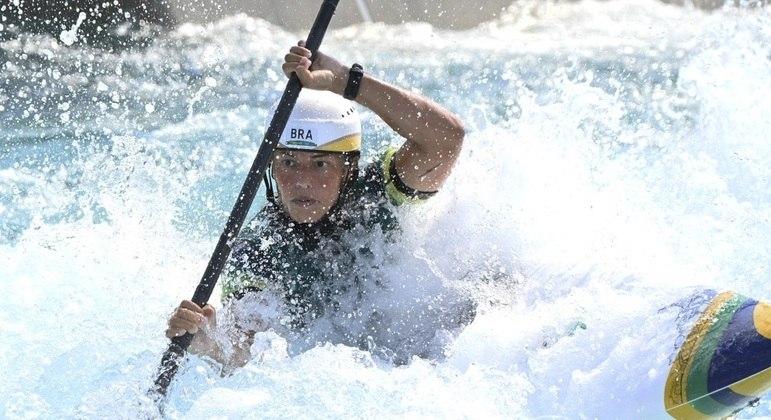 Ana Sátila está em sua terceira Olimpíada representando o Brasil na canoagem slalom