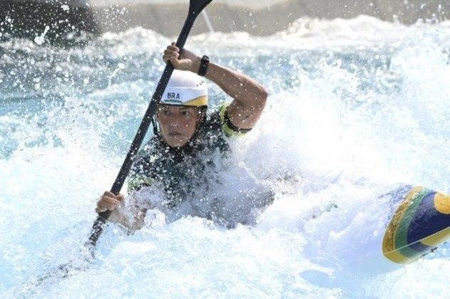Ana Sátila avançou para semifinal nos Jogos Olímpicos na canoagem.