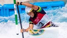 Ana Sátila erra na final e fica sem medalha na canoagem slalom