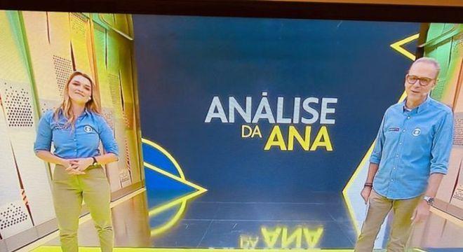 Ana Thais é boa comentarista. Mas a Globo força sua presença. Para atrair público feminino