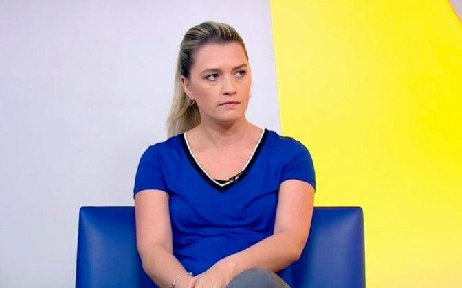 Ana Thaís participou do programa 'Encontro', da Globo, e disse, enfática: 'O nosso corpo não é convite para nenhum assédio'. Nas redes sociais, foi bastante contundente contra a contratação do jogador e a favor das mulheres.