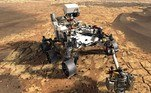 Andarilho da NASA em Marte.