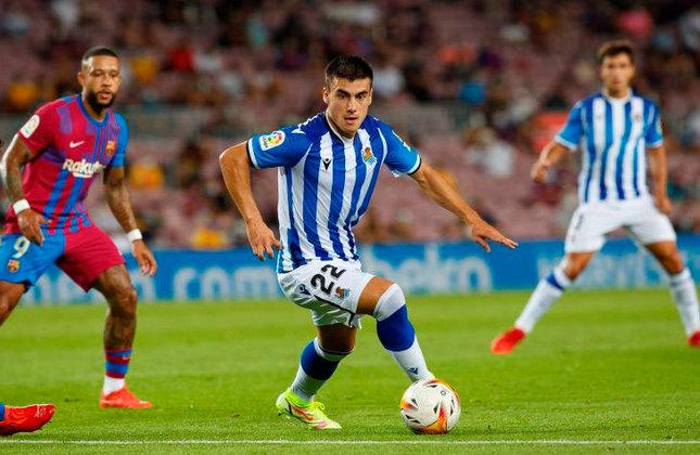 Ander Barrenetxea: Real Sociedad - 19 anos - atacante
