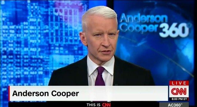 O âncora Anderson Cooper terá um noticiário no Facebook