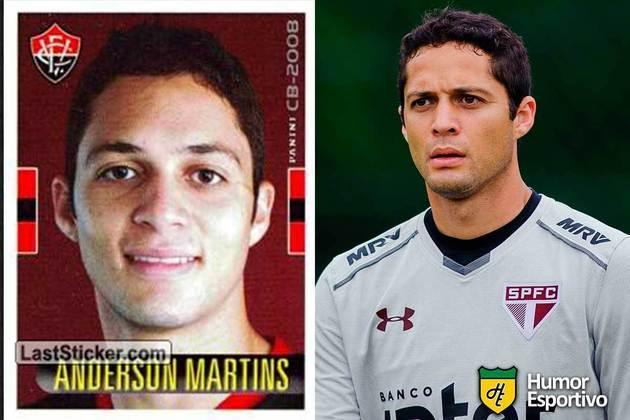 Anderson Martins jogou pelo Vitória em 2008. Inicia o Brasileirão 2020 com 32 anos e jogando pelo São Paulo
