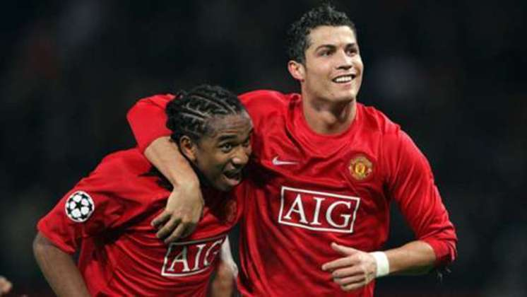 Anderson, meia - Manchester United - 2008