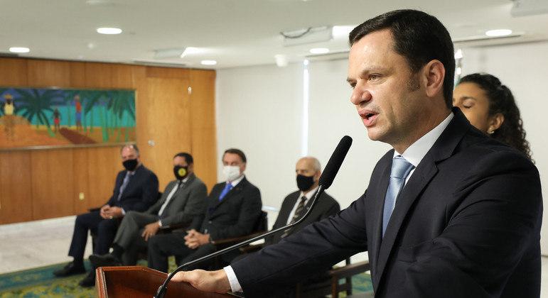 Solenidade de Transmissão de Cargo de Ministro de Estado da Segurança Pública, Anderson Torres