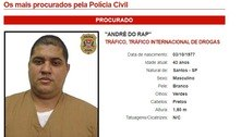André do Rap entra na lista dos mais procurados pela polícia de SP