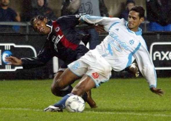 André Luiz, lateral ex-Corinthians, jogou pelo PSG entre 2002 e 2004