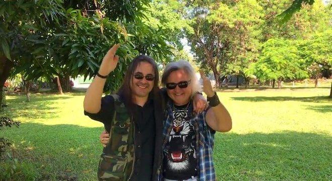 Andre Matos e Robertinho de Recife
