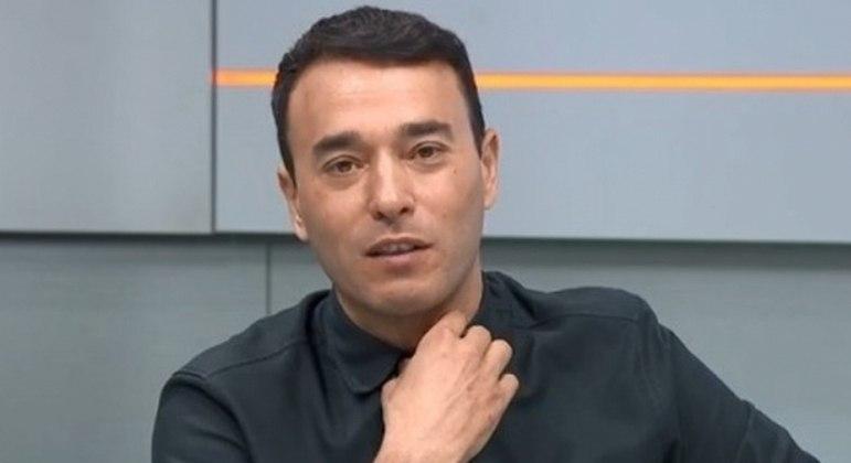 André Rizek, apresentador do SporTV, o canal mais beneficiado com o esvaziamento do Fox Sports
