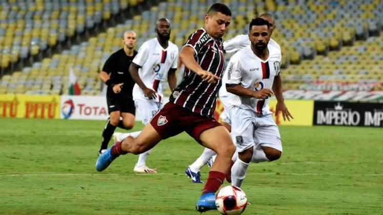André Trindade – Meio-campo – Fluminense – 19 anos – Contrato até dezembro de 2023 – Valor de mercado: 250 mil euros