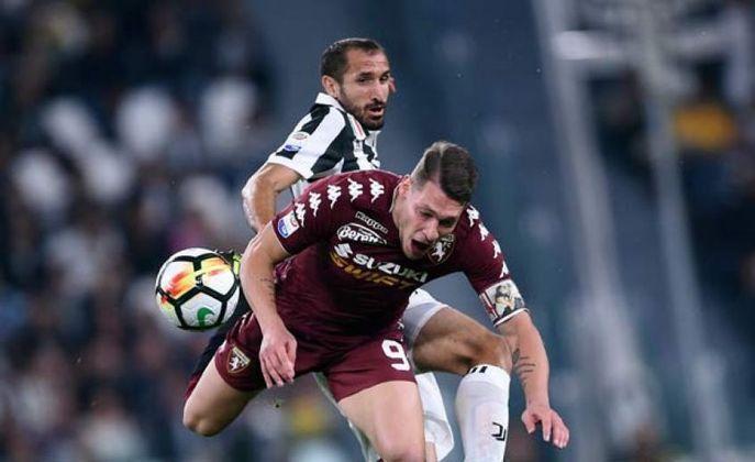 Andrea Belotti - 27 anos - Atacante - Clube: Torino - Contrato até: 30/06/2022