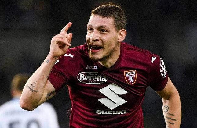 Andrea Belotti (27 anos) - Atacante do Torino - Valor de mercado: 35 milhões de euros - Rumores de interesse da Inter de Milão.