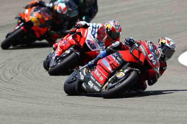 Andrea Dovizioso cresceu aos poucos durante a corrida (Foto: Red Bull Content Pool)