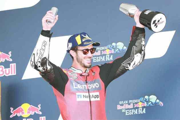 Andrea Dovizioso foi o terceiro (Foto: Red Bull Content Pool)