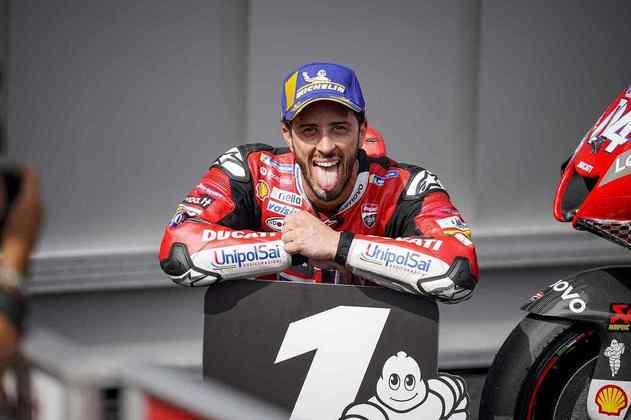 Andrea Dovizioso mais uma vez mostrou dominar a Áustria, conseguindo sua única vitória do ano no Red Bull Ring