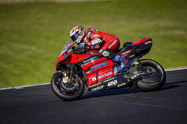 Andrea Dovizioso, sétimo, foi a melhor Ducati