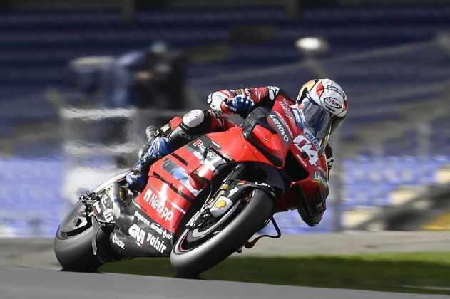Andrea Dovizioso teve classificação positiva e sai em sexto na França