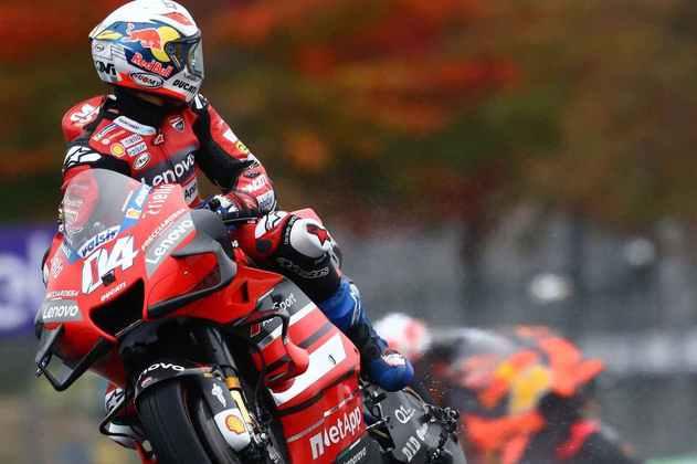 Andrea Dovizioso teve dia apagado em Le Mans e ficou apenas com a 19ª marca