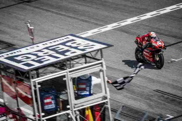 Andrea Dovizioso venceu o GP da Áustria