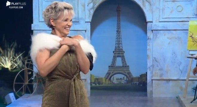 Com looks inspirados na Cidade da Luz (Paris), as peoas arrasaram no desfile improvisado
