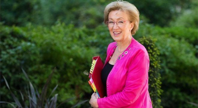 Andrea Leadsom renunciou após May anunciar conteúdo de novo acordo