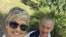 Andréa Nóbrega fala da mãe com Alzheimer: 'Feliz do jeito dela'