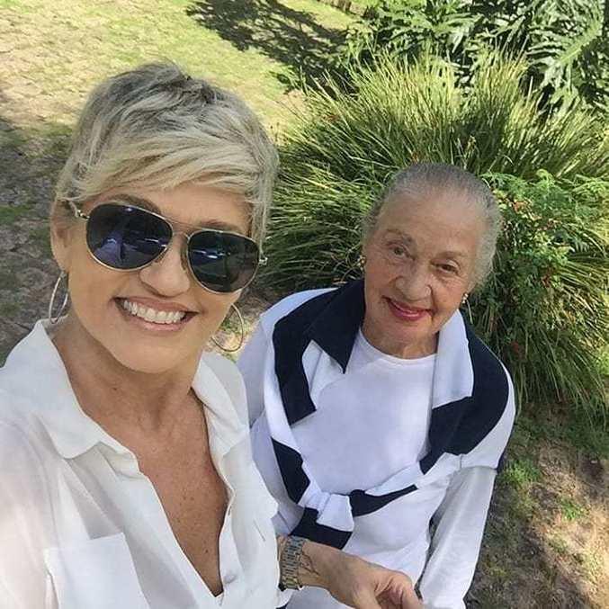 Andréa Nóbrega e Dona Yolanda Bezerra