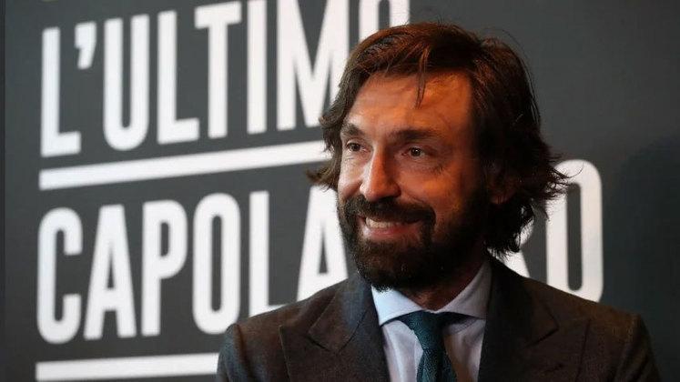 Andrea Pirlo (Itália) - 42 anos - Último clube: Juventus - Desempregado desde maio de 2021 - Começou seu trabalho como treinador profissional na própria Juventus, onde é ídolo como jogador, porém não fez uma boa temporada.