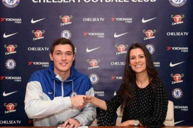 Andreas Christensen - 25 anos - Zagueiro - Clube: Chelsea - Contrato até: 30/06/2022