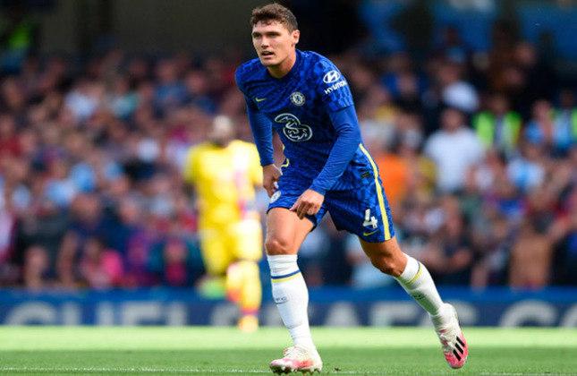 Andreas Christensen (25 anos) - Zagueiro do Chelsea - Valor de mercado: 30 milhões de euros - Começou a temporada como titular e o Chelsea negocia sua renovação.
