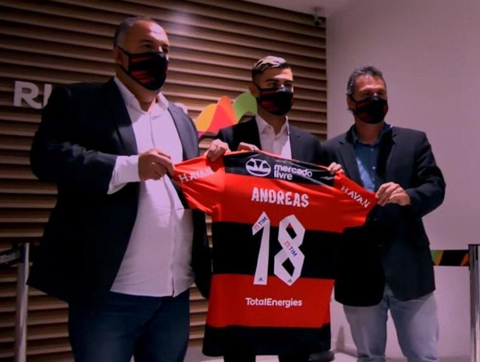 Andreas Pereira faz parte da internacionalização do Flamengo. É uma aposta