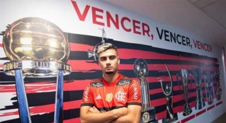 Andreas Pereira - Flamengo