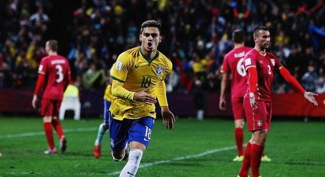 Em 2015, Andreas Pereira marcou o gol brasileiro na decisão perdida para a Sérvia