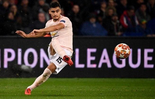 Andreas Pereira - Time: Manchester United (Inglaterra) - Posição: Meia - Idade: 25 anos - Contrato até: 30/06/2023