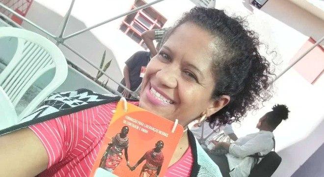 Andreia dos Santos fez a pré-campanha com recursos próprios