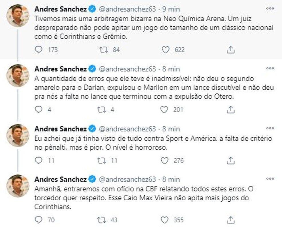 Andrés ameaça vetar juiz. Mas aproveita para desviar o 'namoro' com o Z4